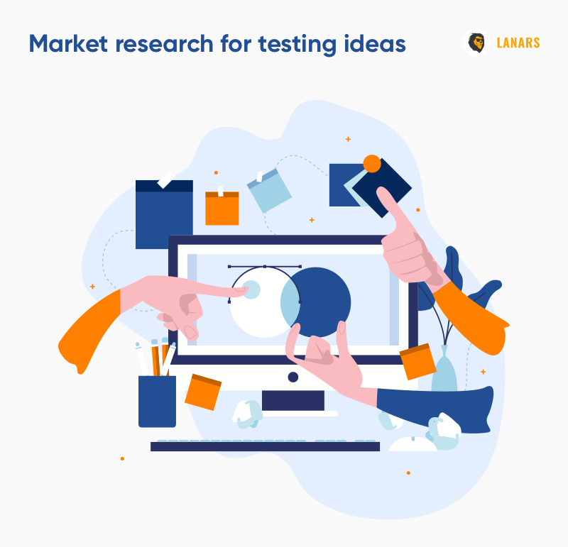 Market research for testing ideas