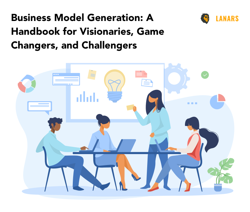 book cover, Business Model Generation