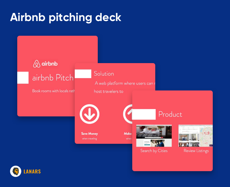 Airbnb pitching deck