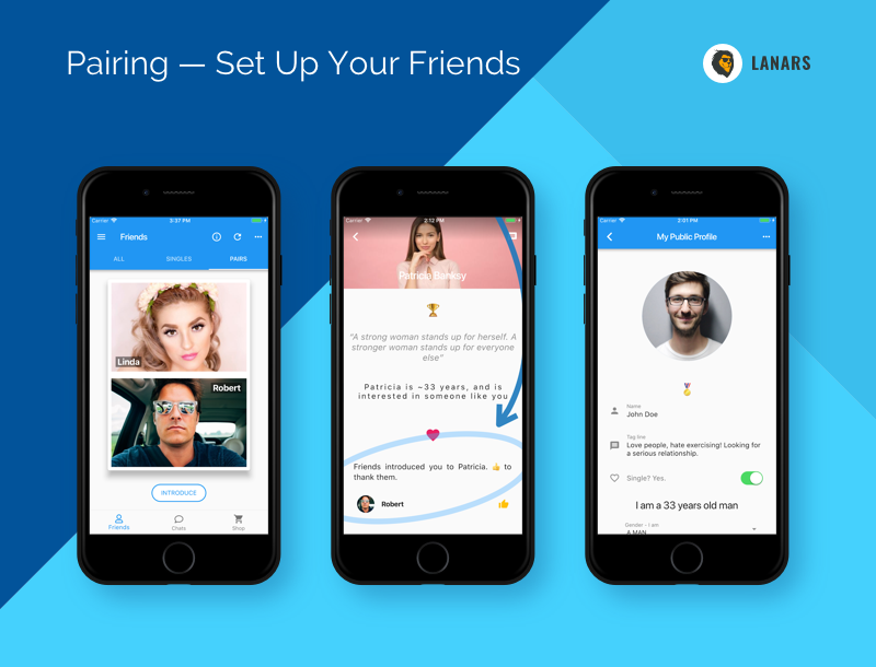 Pairing — Set Up Your Friends