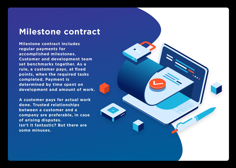 milestone contract