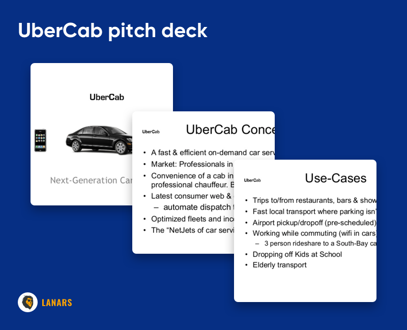 UberCab pitch deck